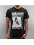 adidas T-Shirt Graphic Girl schwarz