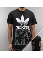 adidas T-Shirt Blockparty schwarz