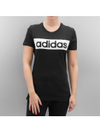 adidas T-Shirt Essentials Linear schwarz