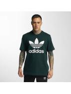 adidas T-Shirt Original Trefoil vert