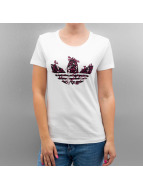 adidas T-Shirt Trefoil Vines weiß