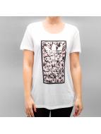 adidas T-Shirt Soccer Flowers2 weiß