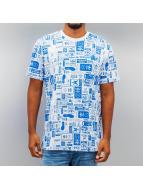 adidas T-Shirt Street GRP AOP weiß