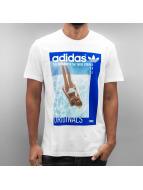 adidas T-Shirt Graphic Girl weiß