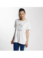 adidas t-shirt Boyfriend Trefoil wit