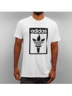 adidas t-shirt Trefoil Fire zwart