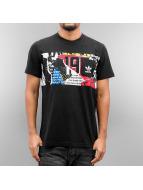 adidas t-shirt Graphic Pocket zwart