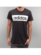 adidas t-shirt Linear zwart
