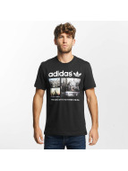 adidas t-shirt Photo 1 zwart