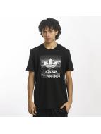 adidas t-shirt NY Photo zwart