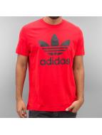 adidas T-shirtar Orig Trefoil röd