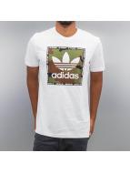 adidas T-Shirts Camo Box beyaz