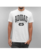 adidas T-Shirts Torsion beyaz