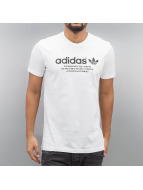 adidas T-Shirts Fashion GRP beyaz
