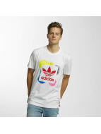 adidas T-Shirts Rectangle 1 beyaz