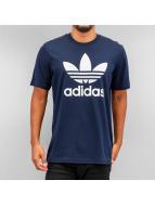 adidas T-Shirts Trefoil mavi