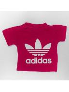 adidas T-Shirty I Trefoil czerwony