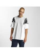 adidas T-skjorter LA Boxy hvit