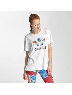 adidas T-skjorter Graphic hvit