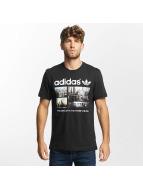 adidas T-skjorter Photo 1 svart