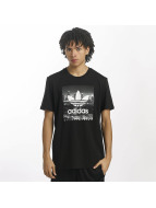 adidas T-skjorter NY Photo svart
