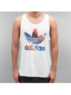 adidas Tank Tops Graphic 80s bialy