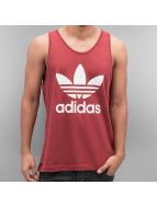 adidas Tank Tops Trefoil punainen