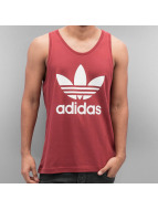 adidas Tank Tops Trefoil red