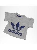 adidas Tričká I Trefoil šedá