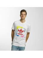 adidas Tričká Rectangle 1 biela