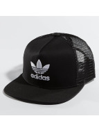 adidas trucker cap Trefoil zwart