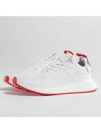 adidas Zapatillas de deporte NMD_R2 Primeknit blanco