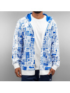 adidas Zip Hoodie Street GRP AOP French Terry white