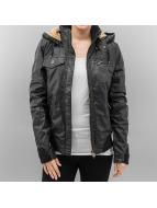 Alife & Famous Leather Jacket Anouk black