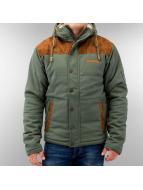 Alife & Famous Manteau hiver Jeremy vert