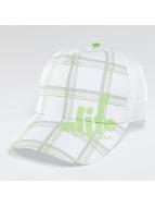 Alife & Kickin Casquette Trucker mesh Lines blanc