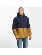 Alife & Kickin Manteau hiver Alife & Kickin Mr. Diamond Jacket bleu