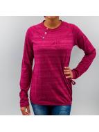 Alife & Kickin Pitkähihaiset paidat Mia purpuranpunainen