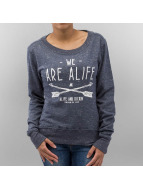 Alife & Kickin Pullover Darla blau