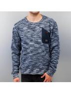 Alife & Kickin Pullover Vincent blau