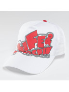 Alife & Kickin Trucker Logo blanc