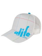 Alife & Kickin Trucker Cap Lines grau