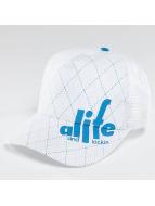Alife & Kickin trucker cap Squares wit