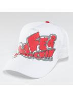 Alife & Kickin Logo Trucker Cap White/Red