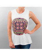 All About Eve Top Hindu Muscle blanc