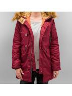 Alpha Industries Зимняя куртка N3B VF 59 красный