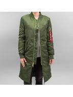 Alpha Industries Куртка-бомбардир MA-1 Coat B3 зеленый
