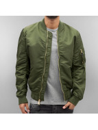 Alpha Industries Куртка-бомбардир MA-1 VF LW зеленый
