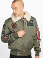 Alpha Industries Куртка-бомбардир Injector III Patch зеленый