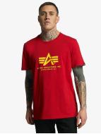 Alpha Industries Футболка Basic красный